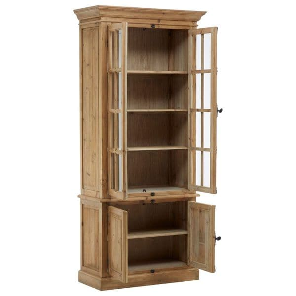 Orkney Natural Wood Bookcase
